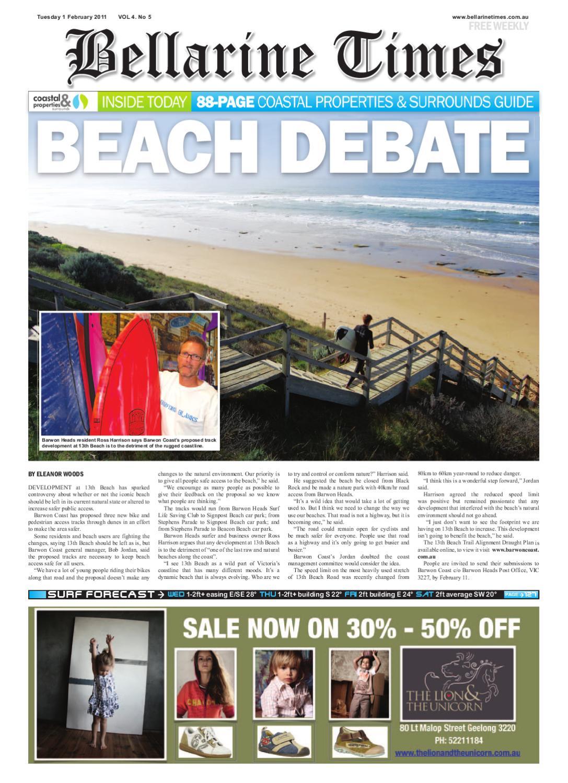 Bellarine Times Feb 1 by Surf Coast News Australia Pty Ltd - issuu b82f0bfb277