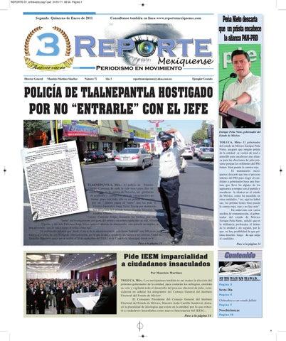 Reporte Mexiquense By Griselda García Issuu