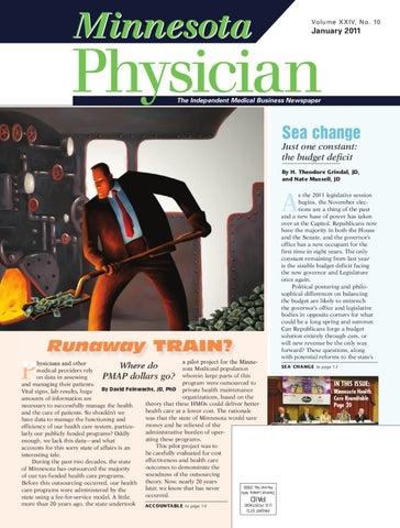 Minnesota Physician January 2011 by Minnesota Physician Publishing