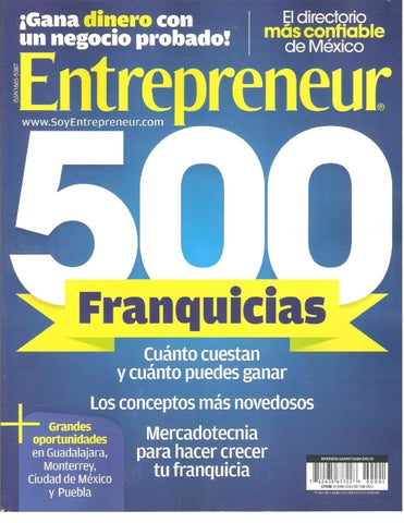 6509975e43f8 ENTREPRENEUR ENERO 2011 by The Dogfather - issuu