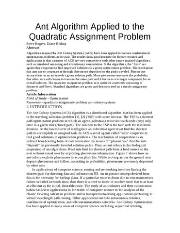 quadratics assignment Quadratic equations : a summary [practice problems] [assignment problems] answer/solutions to the assignment problems do not exist those are intended for use by instructors to assign for homework problems if they want to.