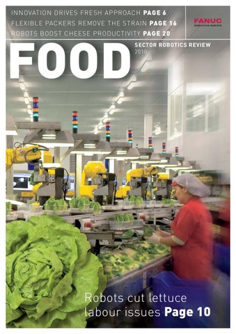 FANUC Robotics Food magazine 2010 by FANUC Europe - issuu