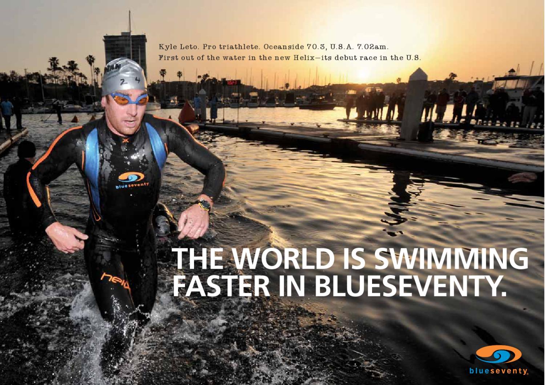 Blue Seventy Running Triathlon Race Number Belt Black