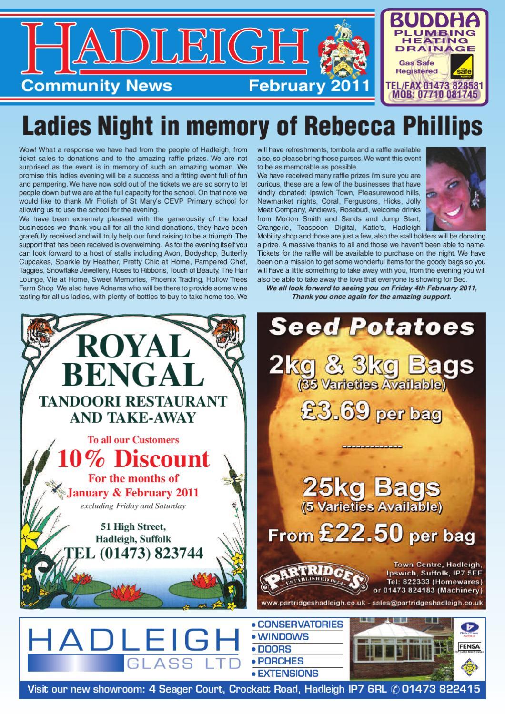 Hadleigh Community News, February 2011 by Keith Avis Printers - issuu