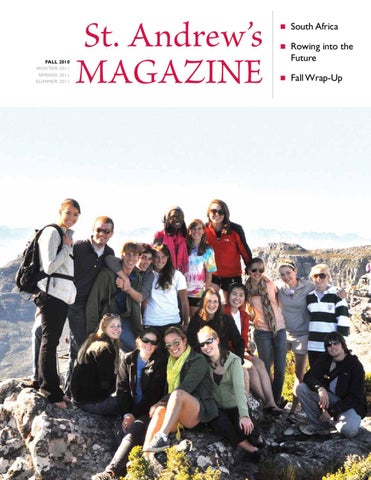 St Andrews Magazine Vol 32 No 3 By School