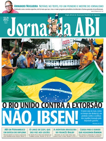 Jornal da ABI 352 by Francisco Ucha - issuu f895ca357edb1