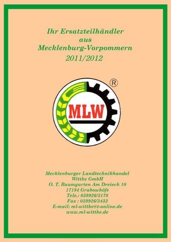 Landtechnikkatalog - Landtechnik Wittke by Mecklenburger ...