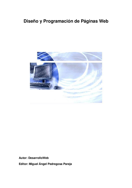 Curso Diseño y Programación de Paginas Web by Ronald Caruci - issuu