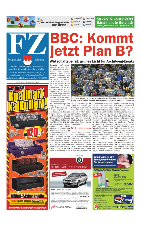 Frankische Zeitung Vom 02 02 2011 By Nordbayerischer Kurier Gmbh Co Zeitungsverlag Kg Issuu