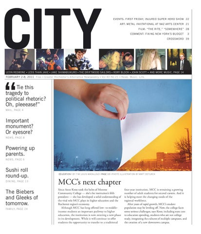 February 2-8, 2011 - CITY Newspaper by Rochester City