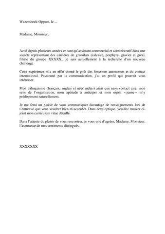 Exemple de lettre de motivation randstad 1 by jobs careers cv page 1 altavistaventures Choice Image