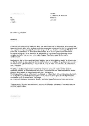 exemple de lettre de motivation avec prétention salariale Exemple de lettre de motivation (Randstad 3) by Jobs & Careers CV  exemple de lettre de motivation avec prétention salariale