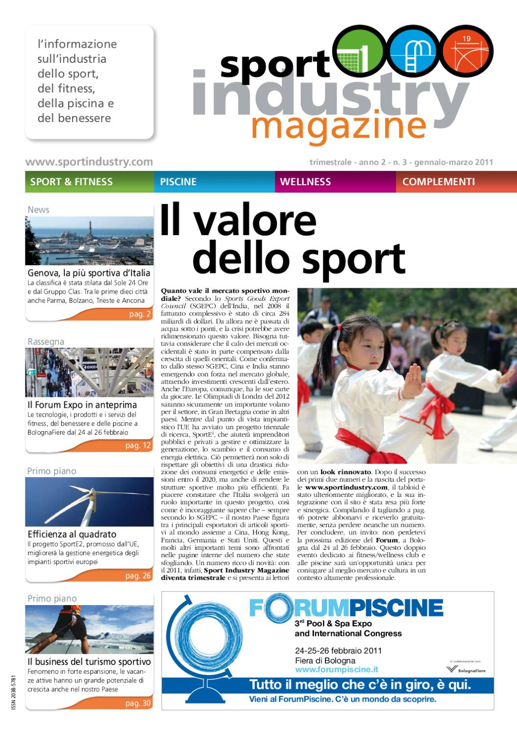 03 SPORT INDUSTRY MAGAZINE By EDITRICE IL CAMPO
