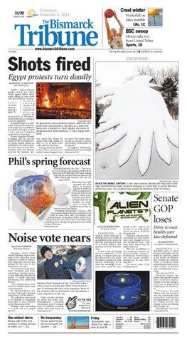 Bismarck Tribune Feb 3 2011 By Bismarck Tribune Issuu
