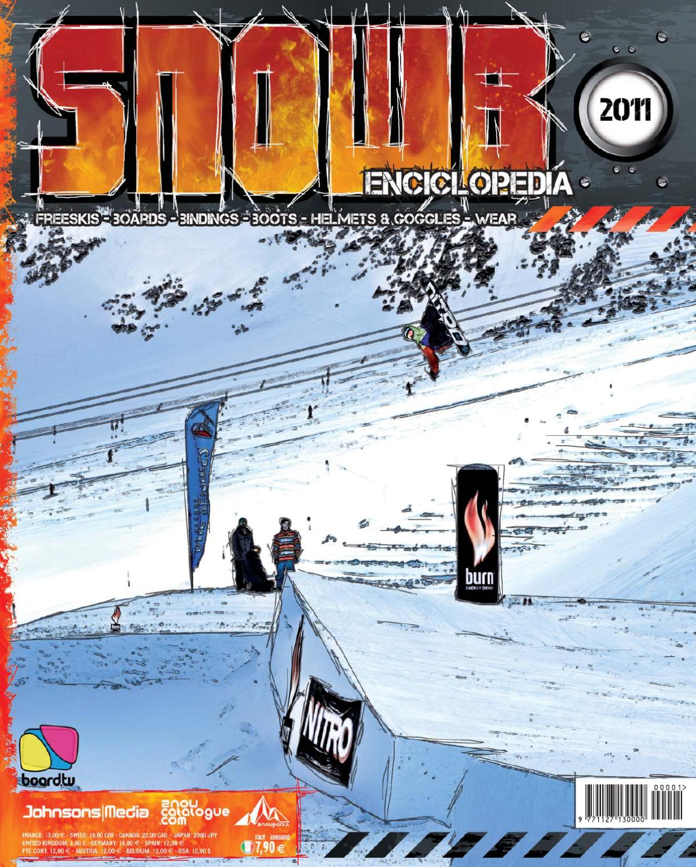 best loved 1642c a9270 Snowb Enciclopedia 2011 by Board.tv - Johnson Web srl - issuu
