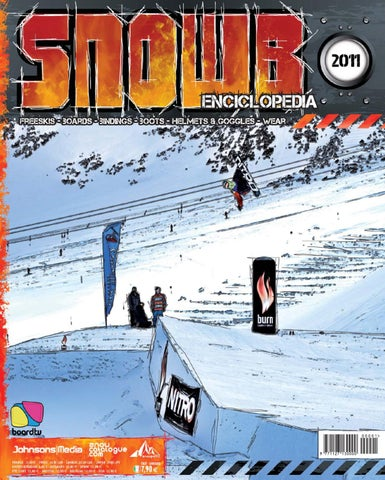 Snowb Enciclopedia 2011 by Board.tv - Johnson Web srl - issuu fd1742979ca8