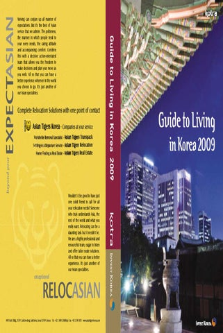 guide to live in korea 2009 by shelldince victor issuu