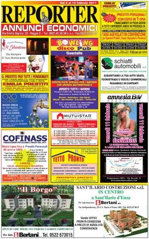Reporter Annunci 03 Febbraio 2012 by Reporter - issuu 4b6a0dda637