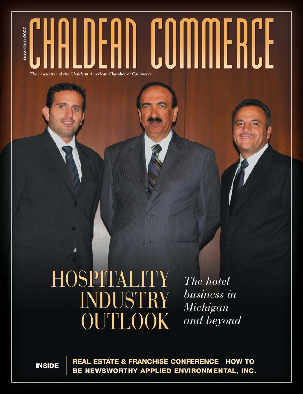 Winter 2007 Chaldean Commerce Newsletter By Valerie