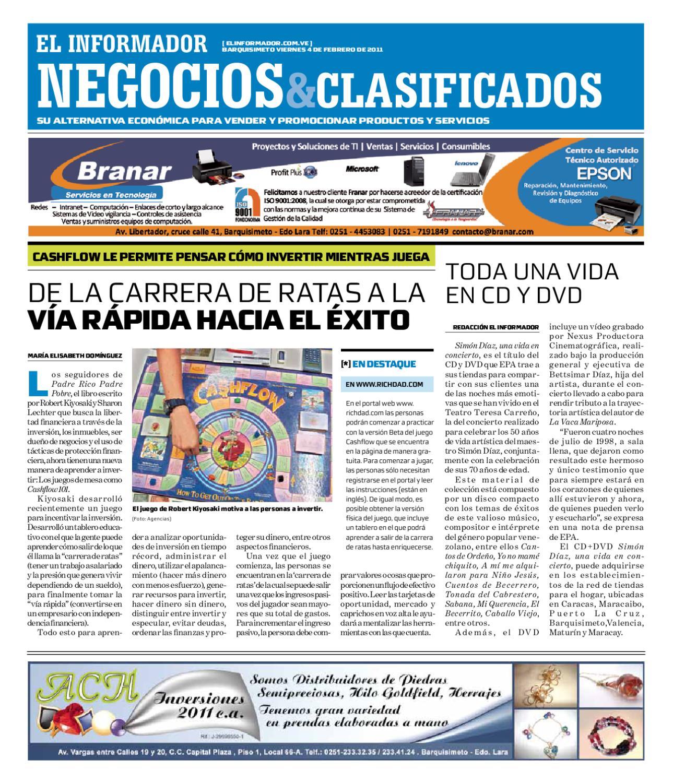 negocios y clasificados 2011 02 04 by El Informador Diario online