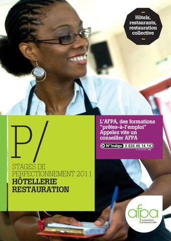 AFPA Catalogue Formation Hotellerie Restauration By CCI - Afpa cuisine