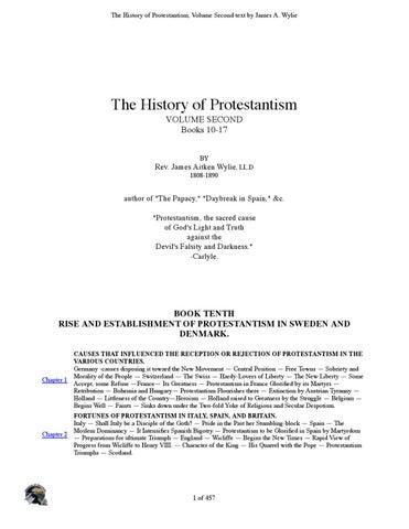 a0ab740bbb History Prostestant Vo2 Rev. James Aitken Wylie by Servant of ...