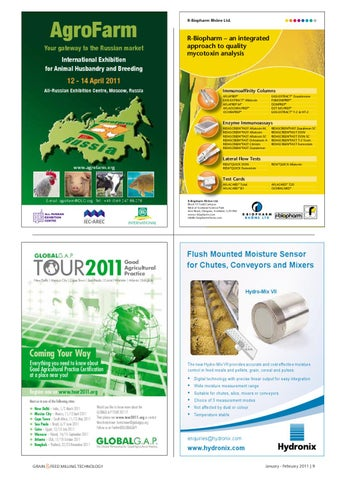 Jan   Feb 11 - Grain & Feed Milling Technology by Perendale