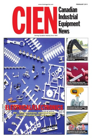 Canadian Industrial Equipment News February 2011 by Annex Business