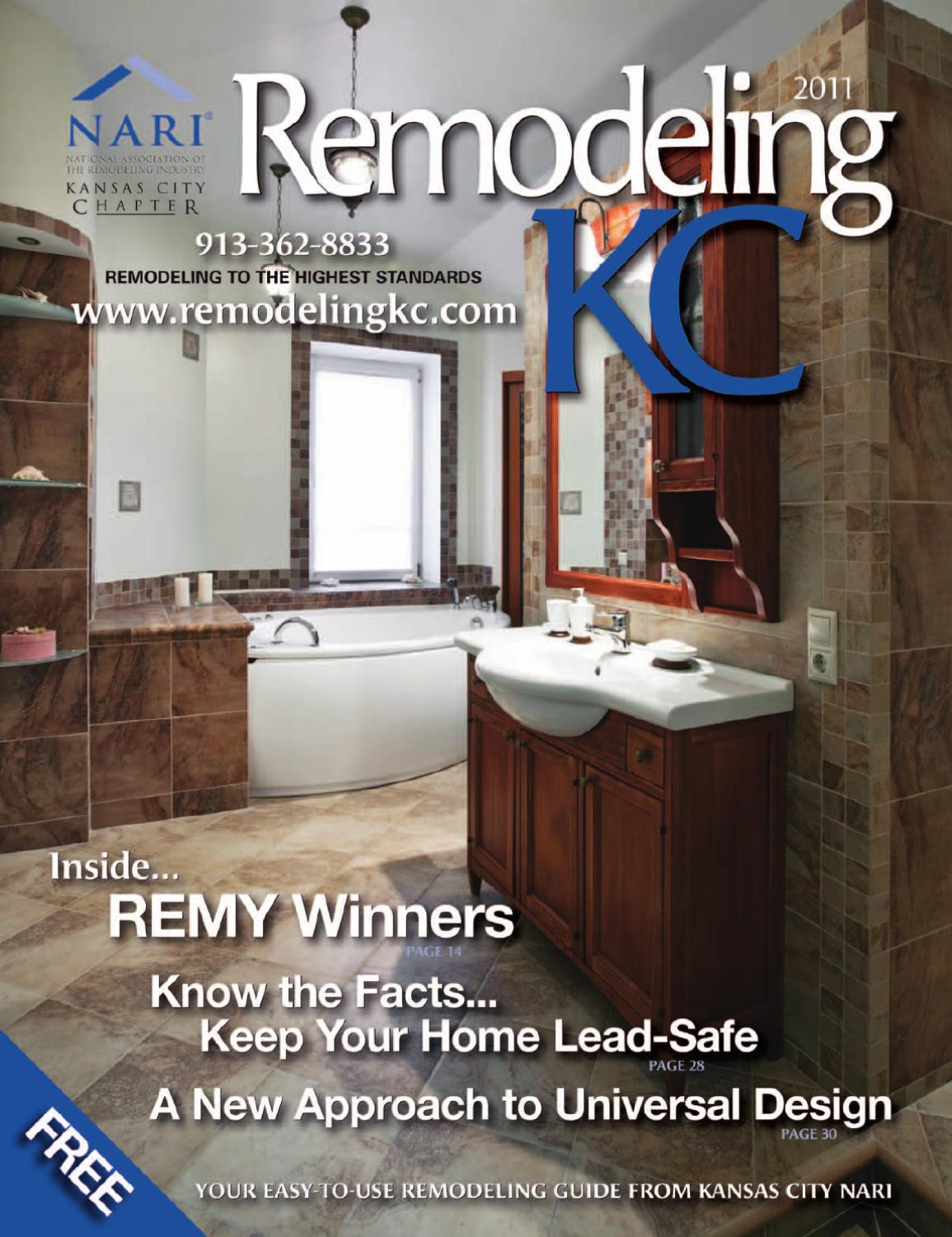 Remodeling Kansas City NARI GUIDE 2011 By Network Communications Inc