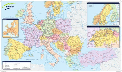 Harta Feroviara A Europei By Mlesnite Radu Issuu
