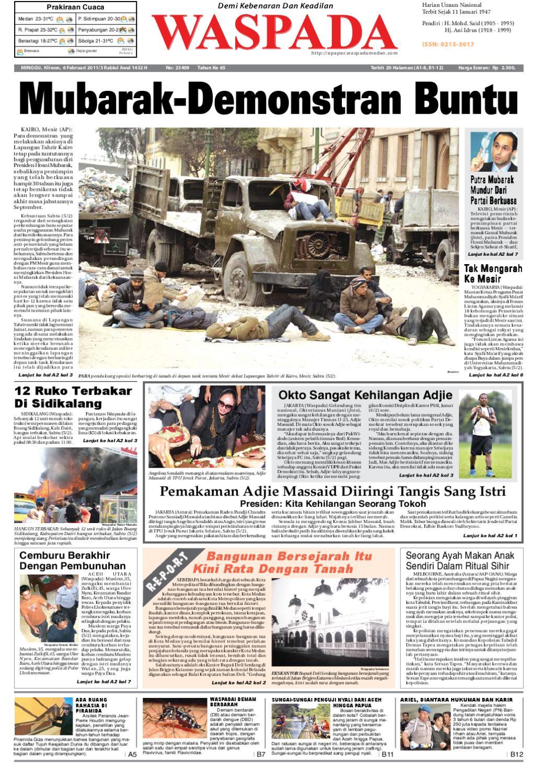 Waspada Minggu 6 Februari 2011 By Harian Waspada Issuu