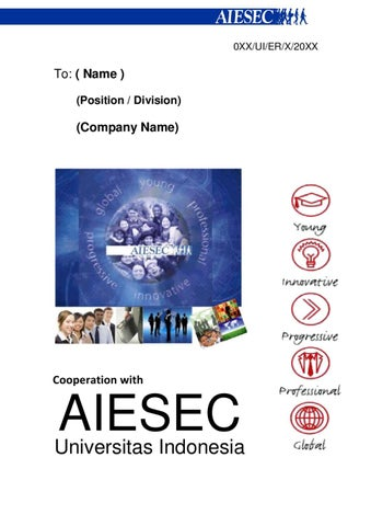 Social Projects Aiesec In Estonia Partnership Proposal By Aiesec