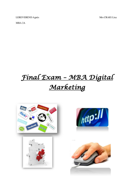 Final exam mba501