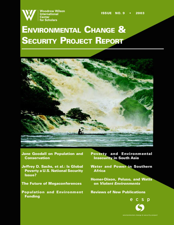 8ef7bd108fb7 ECSP Report 9 by Environmental Change   Security Program - issuu