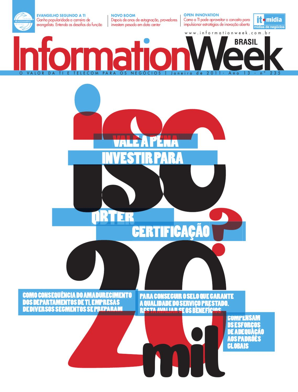 Information Week Brasil - Ed. 235 by IT Mídia - issuu 2308ce0910
