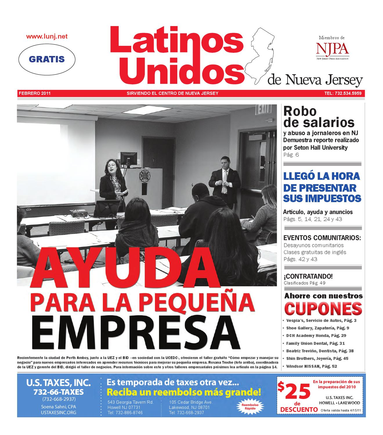 FEBRUARY 2011 by Latinos Unidos de NJ - issuu