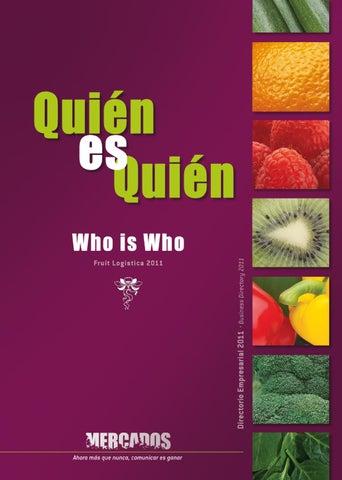 finest selection 9c76e 9836a Fruit Logística 2011. by Revista Mercados - issuu