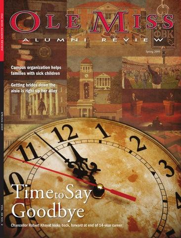 Ole Miss Alumni Review Sprin G 2009 Vol 58 No 2