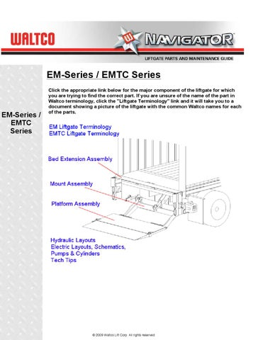 page_1_thumb_large waltco wdl series liftgate by the liftgate parts co issuu anthony liftgate wiring diagram at soozxer.org