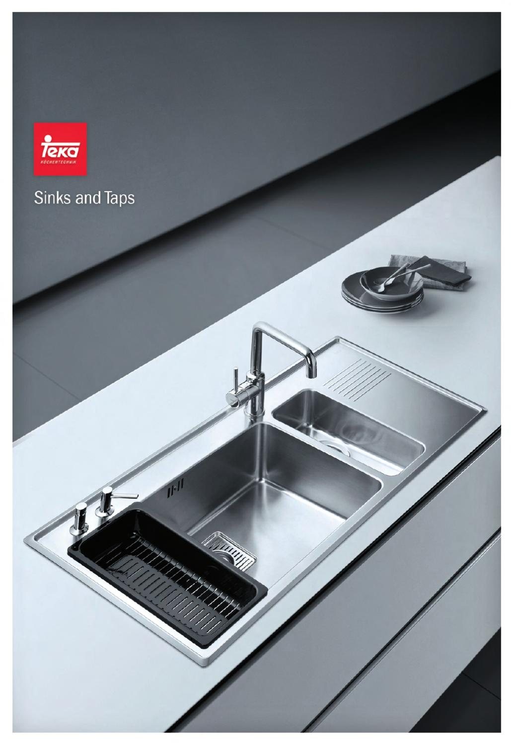 Teka master sink catalogue by Adolfo ramirez - issuu