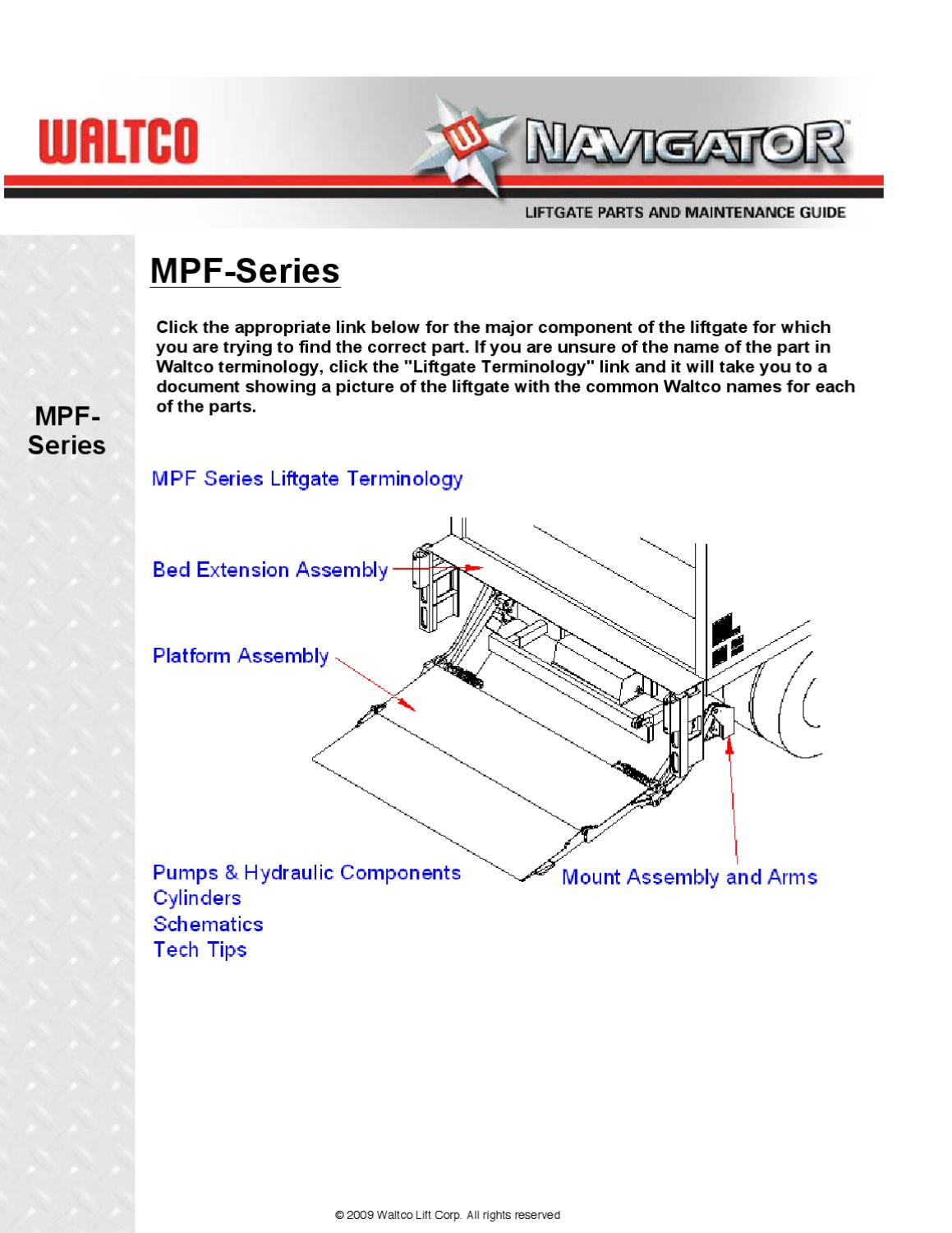 leyman liftgate wiring diagram wiring librarywaltco mpf series liftgate by the liftgate parts co issuu rh waltco lift gates manuals 2004 waltco liftgate wiring diagram