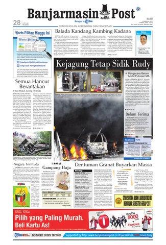 Banjarmasin Post Edisi Rabu 9 Februari 2011 by Banjarmasin Post - issuu 019be058ee