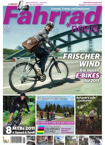 e6795d183fec7c Fahrrad News 1 - 2011 by Degen Mediahouse GmbH - issuu