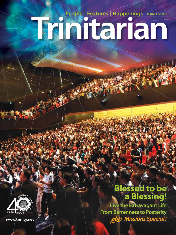 Trinitarian Issue 20 - Apr 10 by Trinity Christian Centre