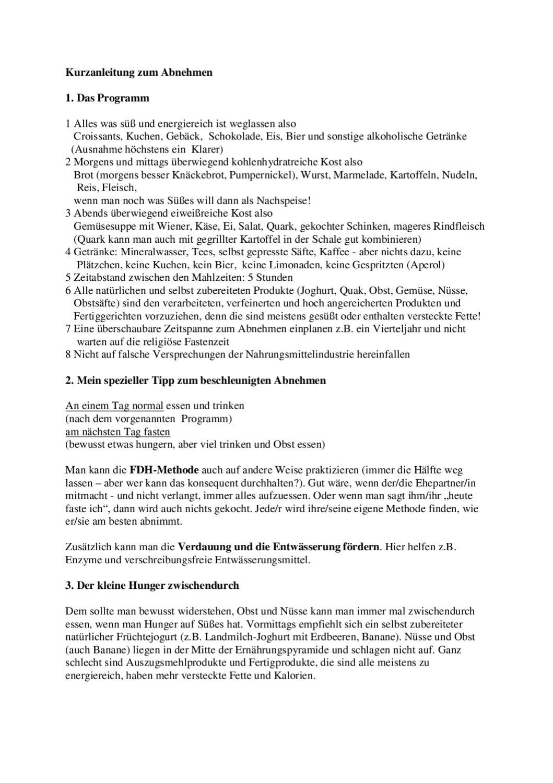 Kurzanleitung zum effektiven Abnehmen by Kruis Klaus - issuu