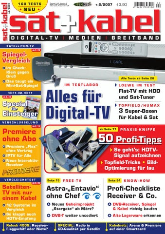 Sat.und.Kabel.2007.01 02 by Finance Finanzen issuu