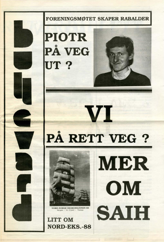 8b4e0eb5 K7 Bulletin nr 03 - våren 1988 by NHH Alumni - issuu