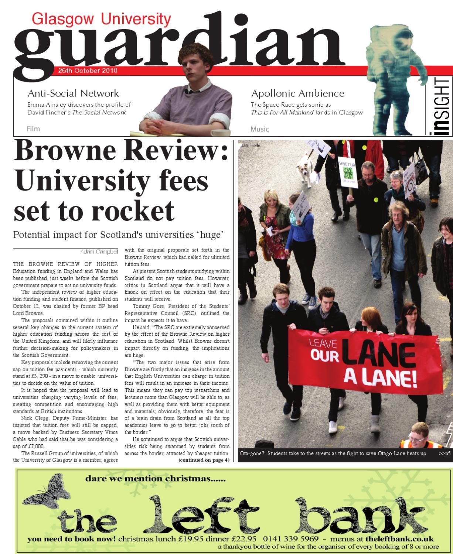 Glasgow Guardian 2010/11 Issue 2 by Glasgow Guardian - issuu