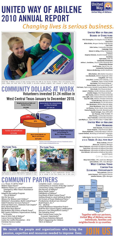 united way annual report pdf