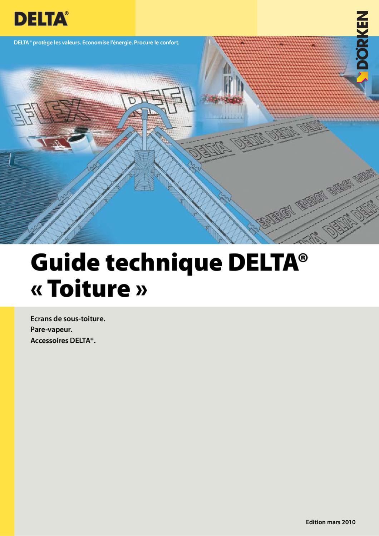 catalogue technique toiture delta doerken 03 2010 by. Black Bedroom Furniture Sets. Home Design Ideas